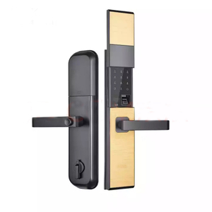Fingerprint Waterproof Outdoor Mailbox Cabinet Office Houesehold Latch Door Lock